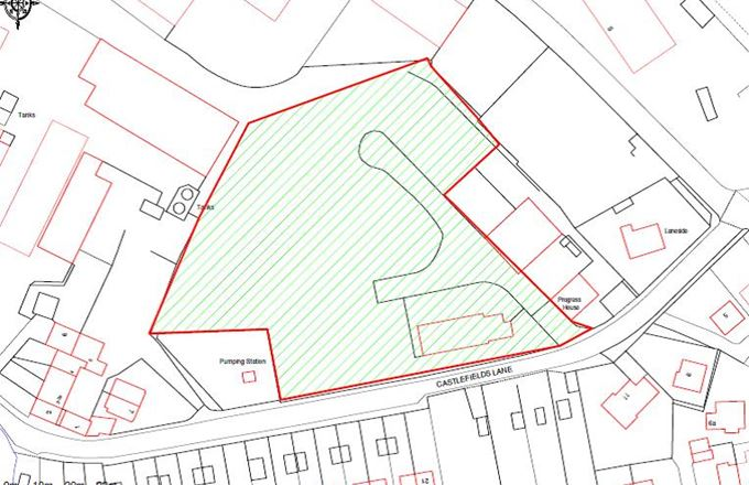 Development site, Castlefields Lane, Crossflatts - For-Sale